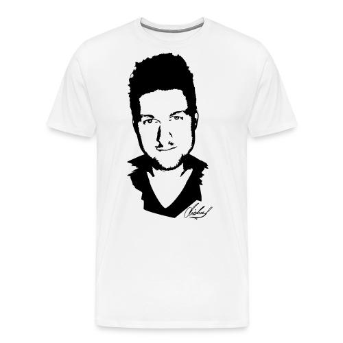 MFsw T-shirt auf weiss NE - Männer Premium T-Shirt