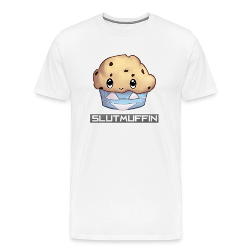 SlutMuffin Outlineaa png - Men's Premium T-Shirt
