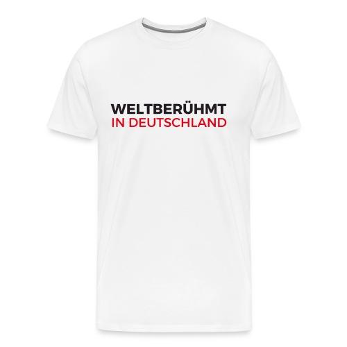 Weltberühmt in Deutschland gif - Männer Premium T-Shirt