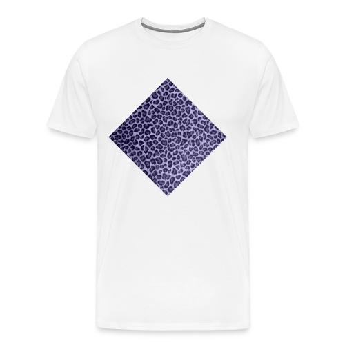 leopardi - Miesten premium t-paita