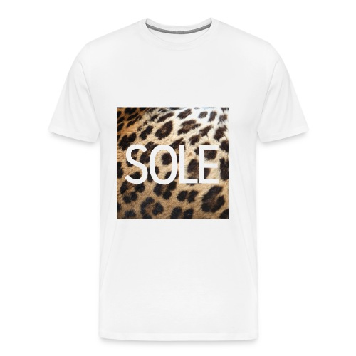 SOLE Lepard Logo Tee - Männer Premium T-Shirt