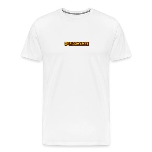 piggaynet1 - Männer Premium T-Shirt