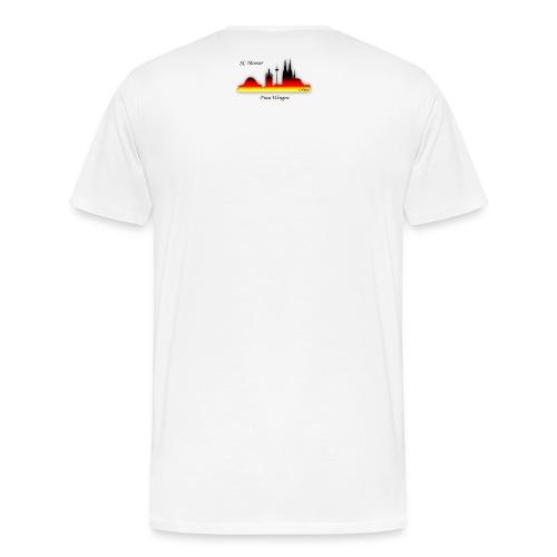 frau wingen - Männer Premium T-Shirt