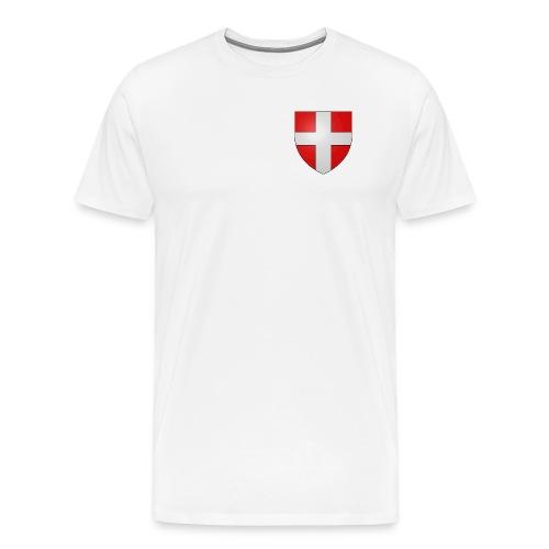 Blason Savoie Propre png - T-shirt Premium Homme