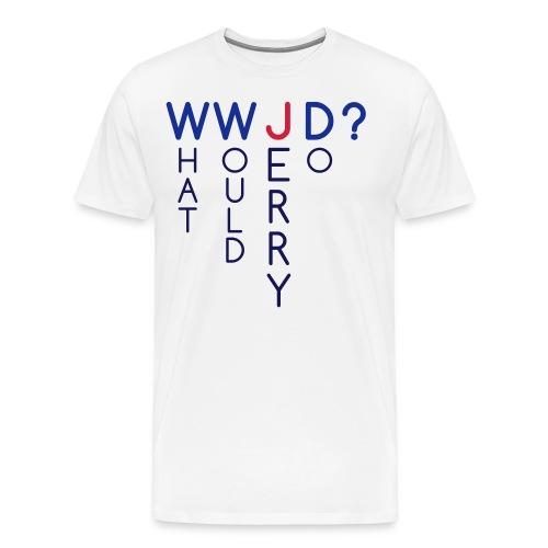 W W J D - Men's Premium T-Shirt