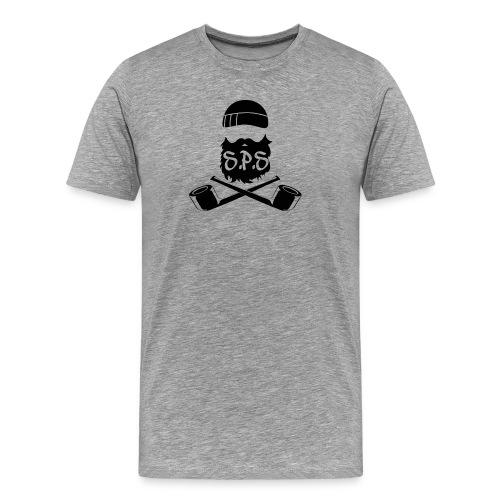 logga svart - Premium-T-shirt herr