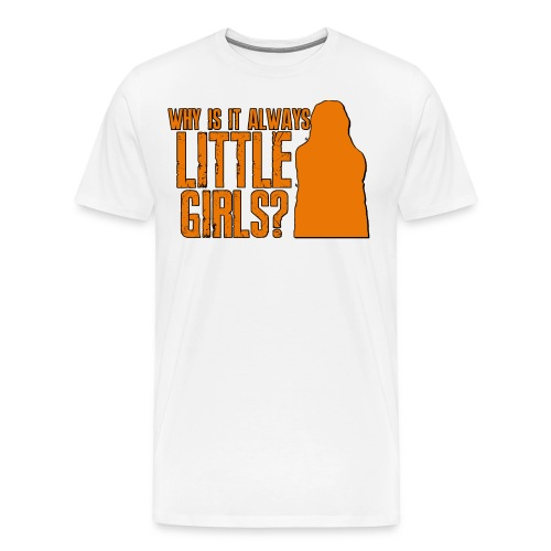 Little Girls - Men's Premium T-Shirt