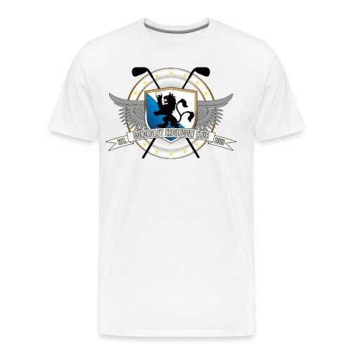 Goldcoast Crossgolf Club Logo - Männer Premium T-Shirt