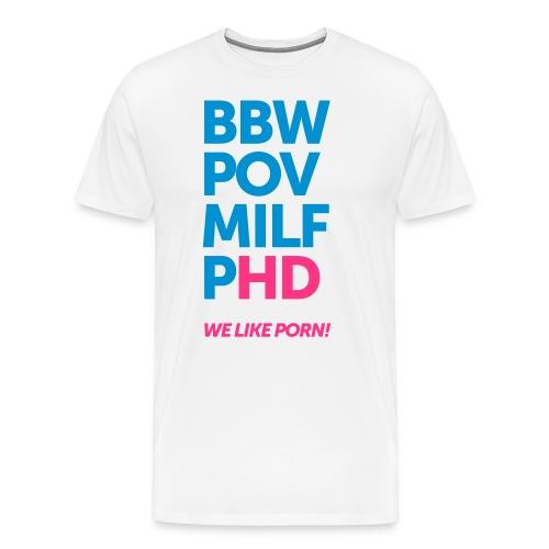 bbw - Men's Premium T-Shirt
