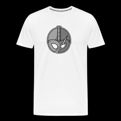 Slashed Helmet - Men's Premium T-Shirt