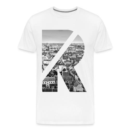 R Rostocker Altstadt - Männer Premium T-Shirt