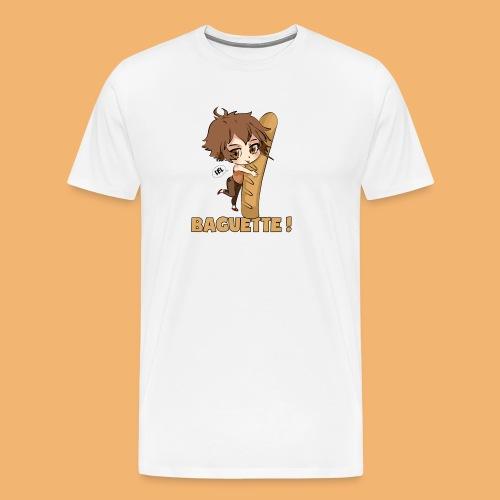 baguette tshirt png - T-shirt Premium Homme