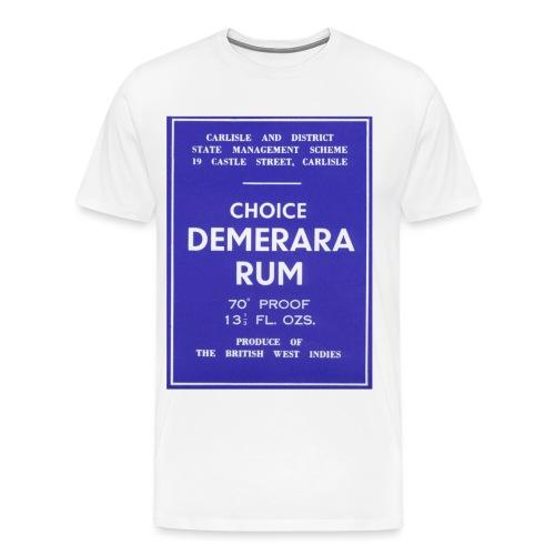 Demerara Rum copy - Men's Premium T-Shirt
