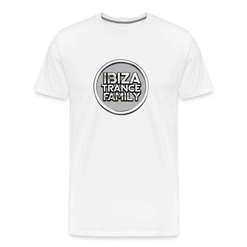itf circle chrome trans png - Men's Premium T-Shirt
