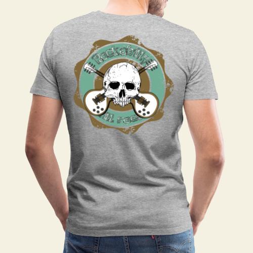 Rockabilly Still Rockin - Herre premium T-shirt
