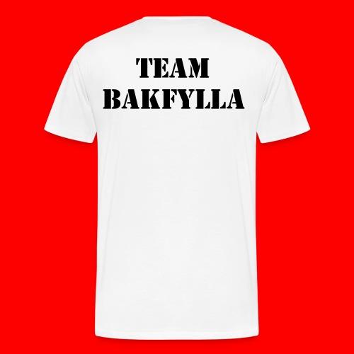 Team Bakfylla - Premium-T-shirt herr