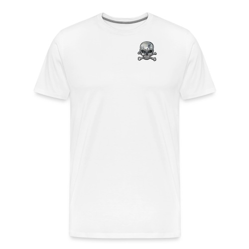 Totenkopf_Chrom1 - Männer Premium T-Shirt