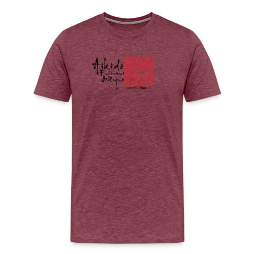 HANKO e shodo + sito - Maglietta Premium da uomo