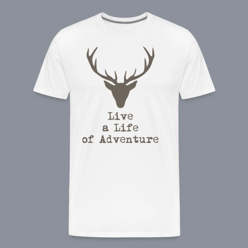 logo lalia braun 3500px - Männer Premium T-Shirt