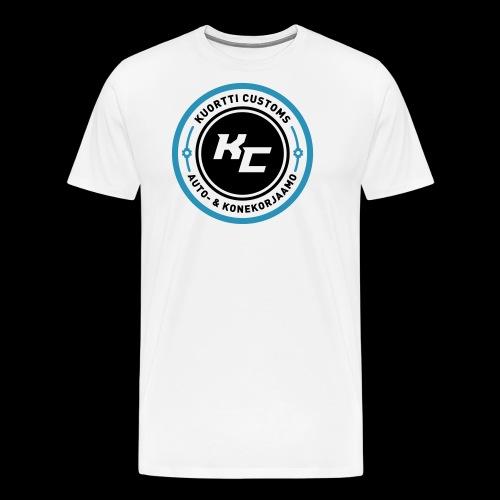 kc_tunnus_2vari - Miesten premium t-paita