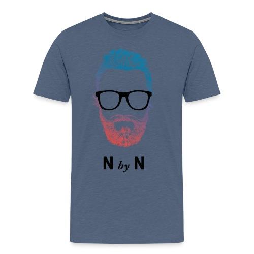 nerdy beards neon frank - Männer Premium T-Shirt