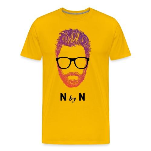 nerdybeards neon ricky - Männer Premium T-Shirt