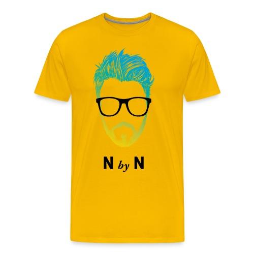 nerdybeards neon johnny - Männer Premium T-Shirt