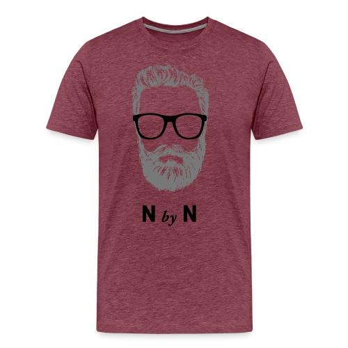 nerdybeards - dave - Männer Premium T-Shirt