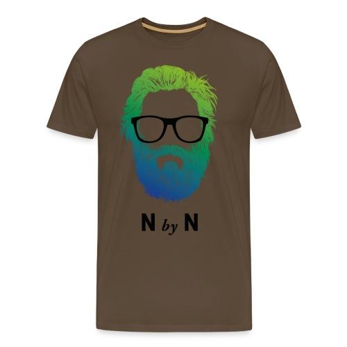 nerdybeards neon billy - Männer Premium T-Shirt