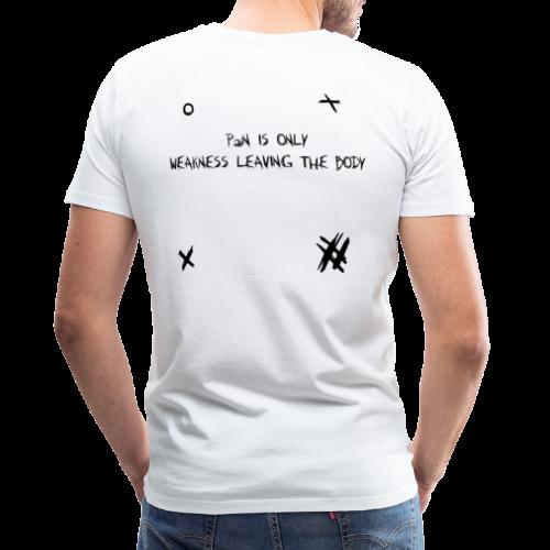 WEAKNESS - Herre premium T-shirt