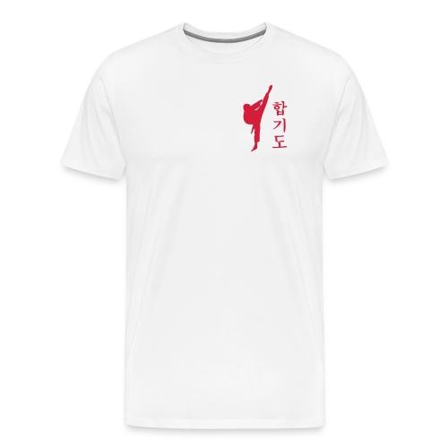 Hapkido Kick - Männer Premium T-Shirt