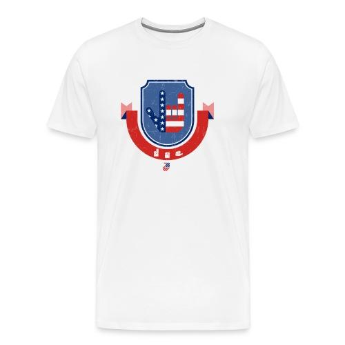 I love you USA - T-shirt Premium Homme