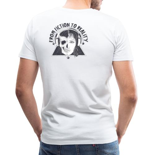 ''From Fiction To Reality'' Merchandise - Mannen Premium T-shirt