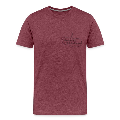 how sweet it is png - T-shirt Premium Homme