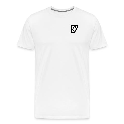 watermerk zwart png - Mannen Premium T-shirt