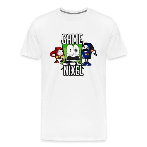 Logo test 2 png - Mannen Premium T-shirt