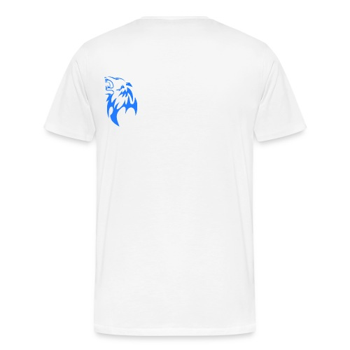 wolf blau png - Männer Premium T-Shirt