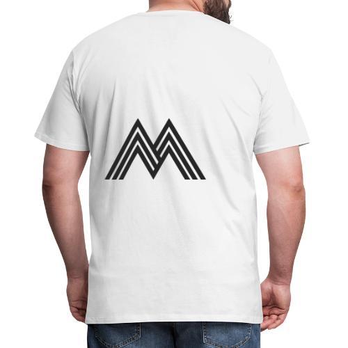 Merchandise With Deejay Michiel logo - Mannen Premium T-shirt
