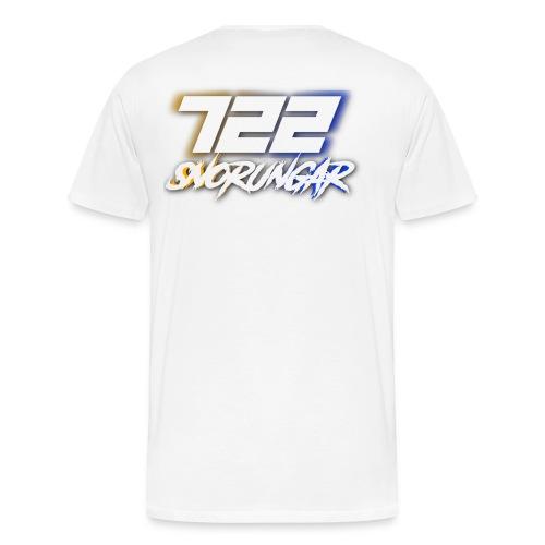 722 shadow design 2017 - Premium-T-shirt herr