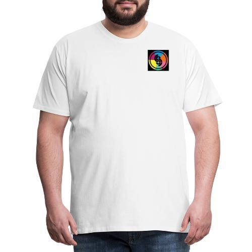 sidetrak Neon vinyl logo - Men's Premium T-Shirt
