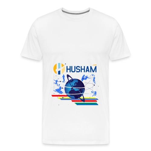 Husham.cm - Men's Premium T-Shirt