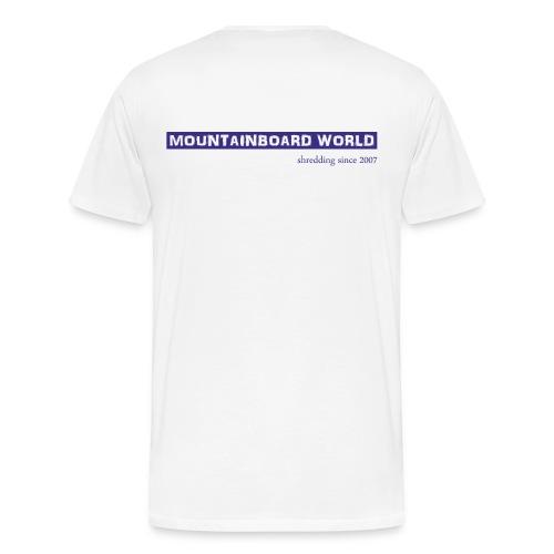 Logo lila - Männer Premium T-Shirt
