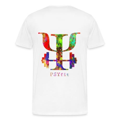 Watercolour splatter - Men's Premium T-Shirt