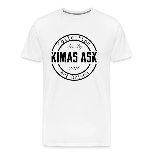 Logo Kimas Ask Artdriven - Premium T-skjorte for menn