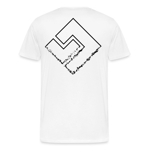 crumbling logo extreem - Mannen Premium T-shirt
