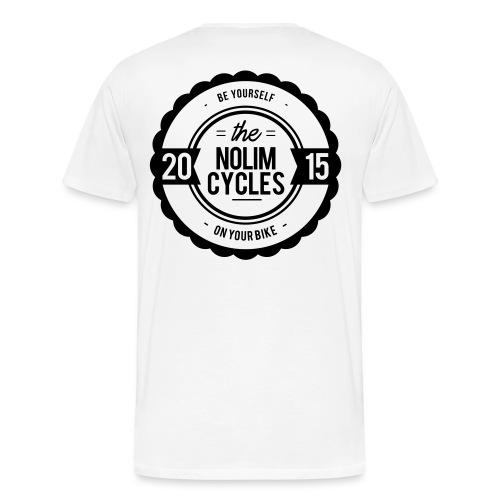 NLC WHITE - Männer Premium T-Shirt