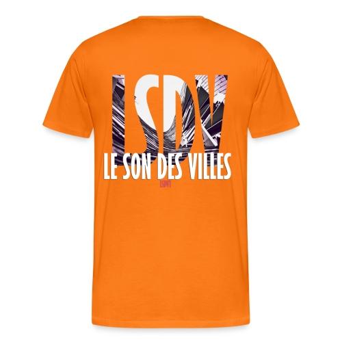 Le Son Des Villes : Ondes - T-shirt Premium Homme