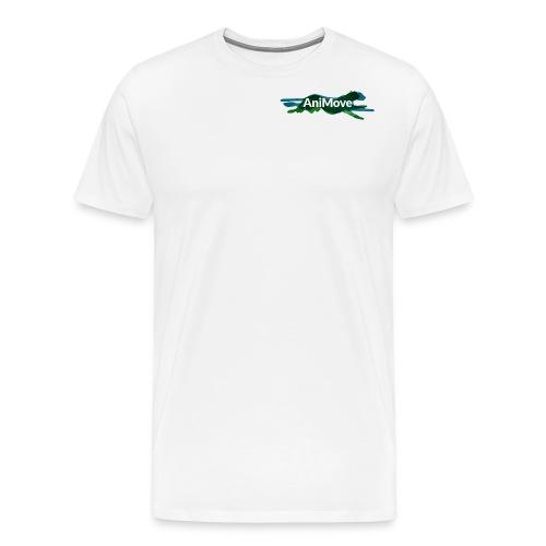 AniMove org logo trans - Men's Premium T-Shirt