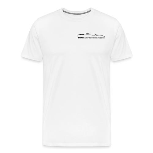 gros logo noir - T-shirt Premium Homme