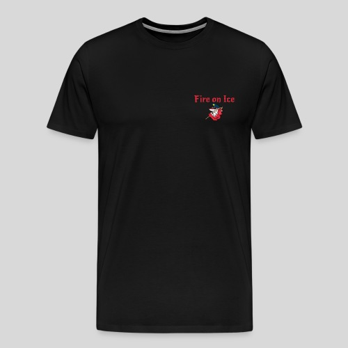 Bull Sharks Logo Brust png - Männer Premium T-Shirt